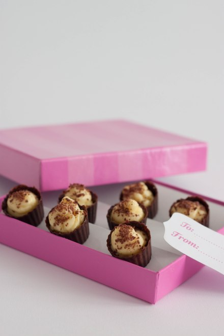 cioccolatini crema rhum