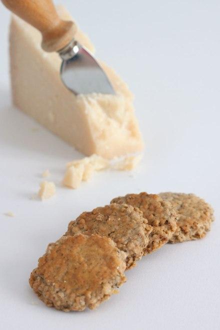 Crackers di avena al pepe